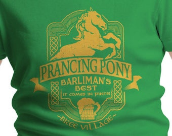 LOTR Inspired Prancing Pony Boys' T-Shirt