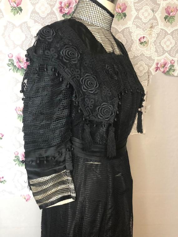 1910 Edwardian antique dress