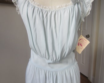 Vintage 1940s or 1930s deadstock nightgown