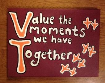 Virginia Tech Memories Canvas