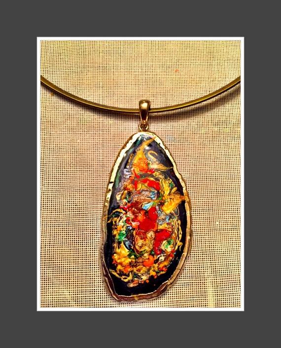 handmade jewelery one of a kind Necklace