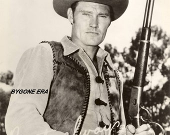 Chuck Conners Cowboy Western Hollywood Photo Art Poster Artwork 11x14 or 16x20