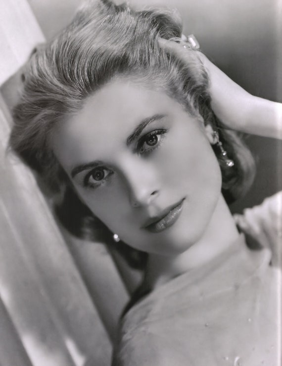 Grace Kelly Beautiful Face Poster Art Photo 11x14 Etsy