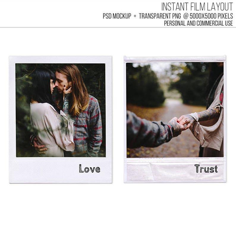 Photoshop Polaroid Frame