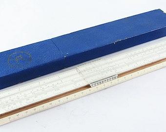 SLIDE RULE Russian Soviet Vintage Calculator ruler logarithmic