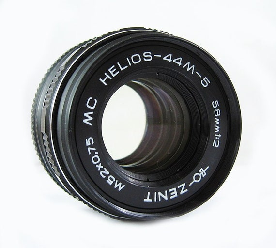MC HELIOS 44M-5 Rare Russian Pentax Zenit M42 Lens slr dslr + Adaptor ring  for Canon EOS