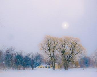 winter noon