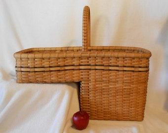 "Handmade Basket: 8"" Step Basket"