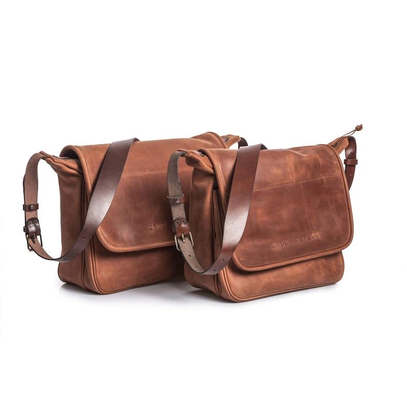 f58555328d85 Mens leather bag Flap messenger bag Satchel Cross body bag | Etsy