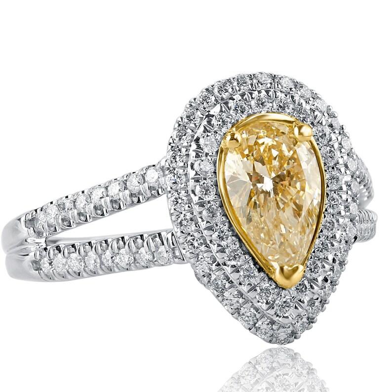 Cheap Sale White Round Diamond Ring 3.34 Ct Diamond Black Ring New Handmade @ Fine Jewelry Diamond