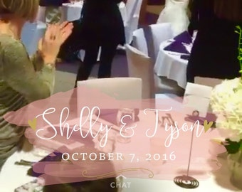 Wedding Snapchat Geofilter, Snap Chat, Weddings, Filters, Pink filters