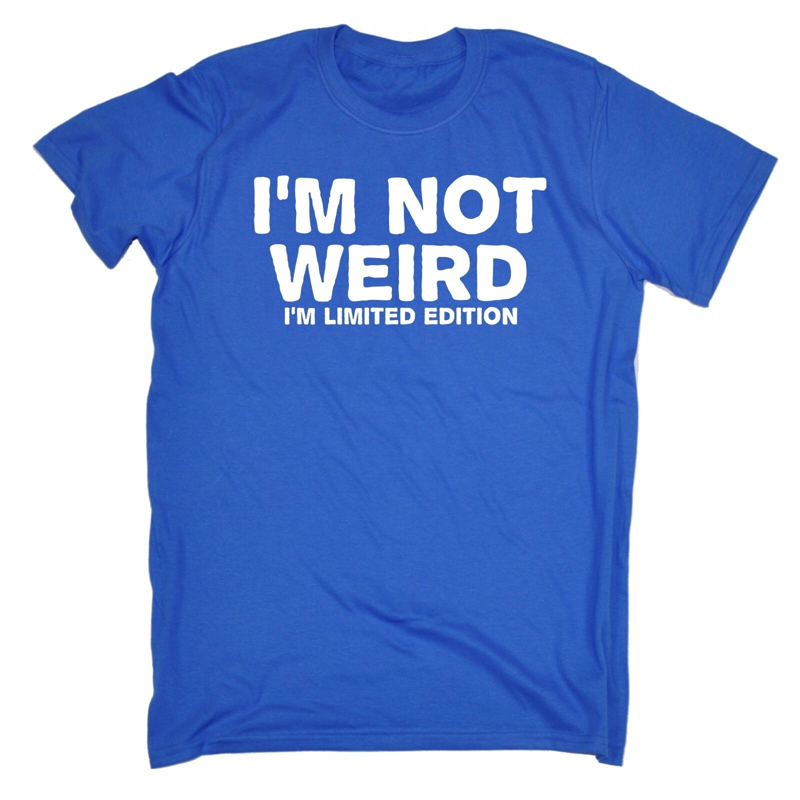 123t des hommes je ne suis pas pas pas bizarre, je suis limitée T-Shirt drôle Tee Tshirt T Shirts nouveauté drôle cadeau d'anniversaire cadeau Noël 94fe60