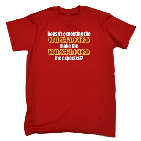 123t homme l'inattendu n'attend la marque inattendue l'inattendu homme le cadeau d'anniversaire nouveauté drôle Tshirt T Shirts Tee T-Shirt drôle prévu P 11d374