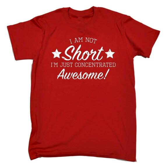 123t des hommes je ne T-Shirt suis pas court, je suis concentré impressionnant drôle T-Shirt ne Tee Tshirt T Shirts nouveauté drôle cadeau d'anniversaire cadeau Noël bc5d64