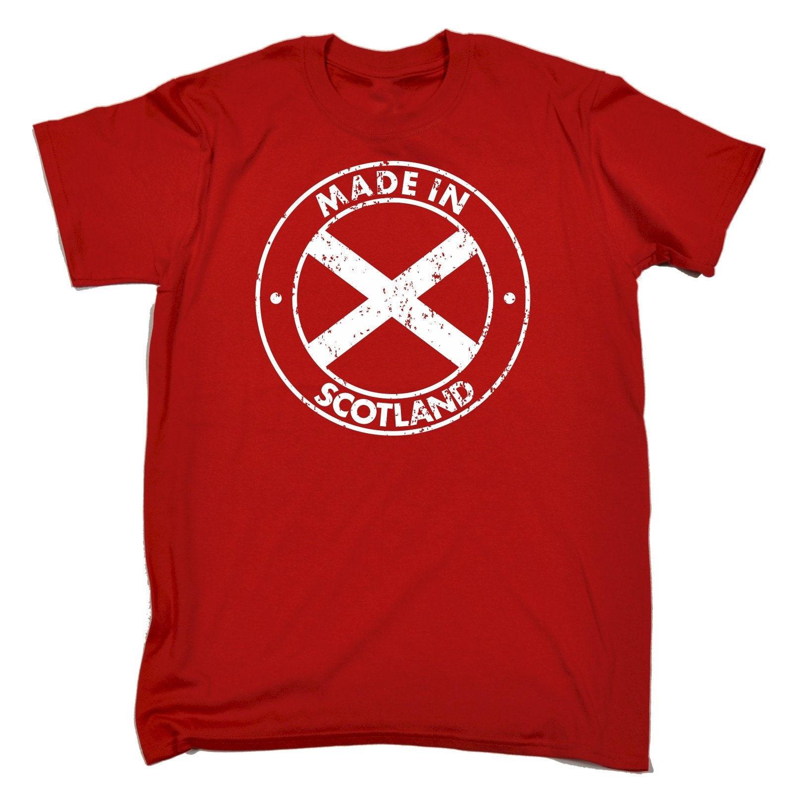 123t homme homme 123t de fabriqué en Ecosse drôle T-Shirt Tee Tshirt T Shirts nouveauté drôle d'anniversaire cadeau de Noël présent 430283