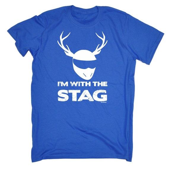 123t des hommes je suis avec le cadeau d'anniversaire de T-Shirt cerf drôle T-Shirt de Tee Tshirt T Shirts nouveauté drôle cadeau Noël 1f0e47