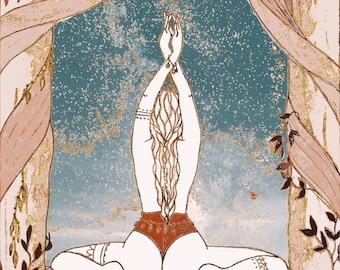 DIGITAL DOWNLOAD. Divine Feminine Art.