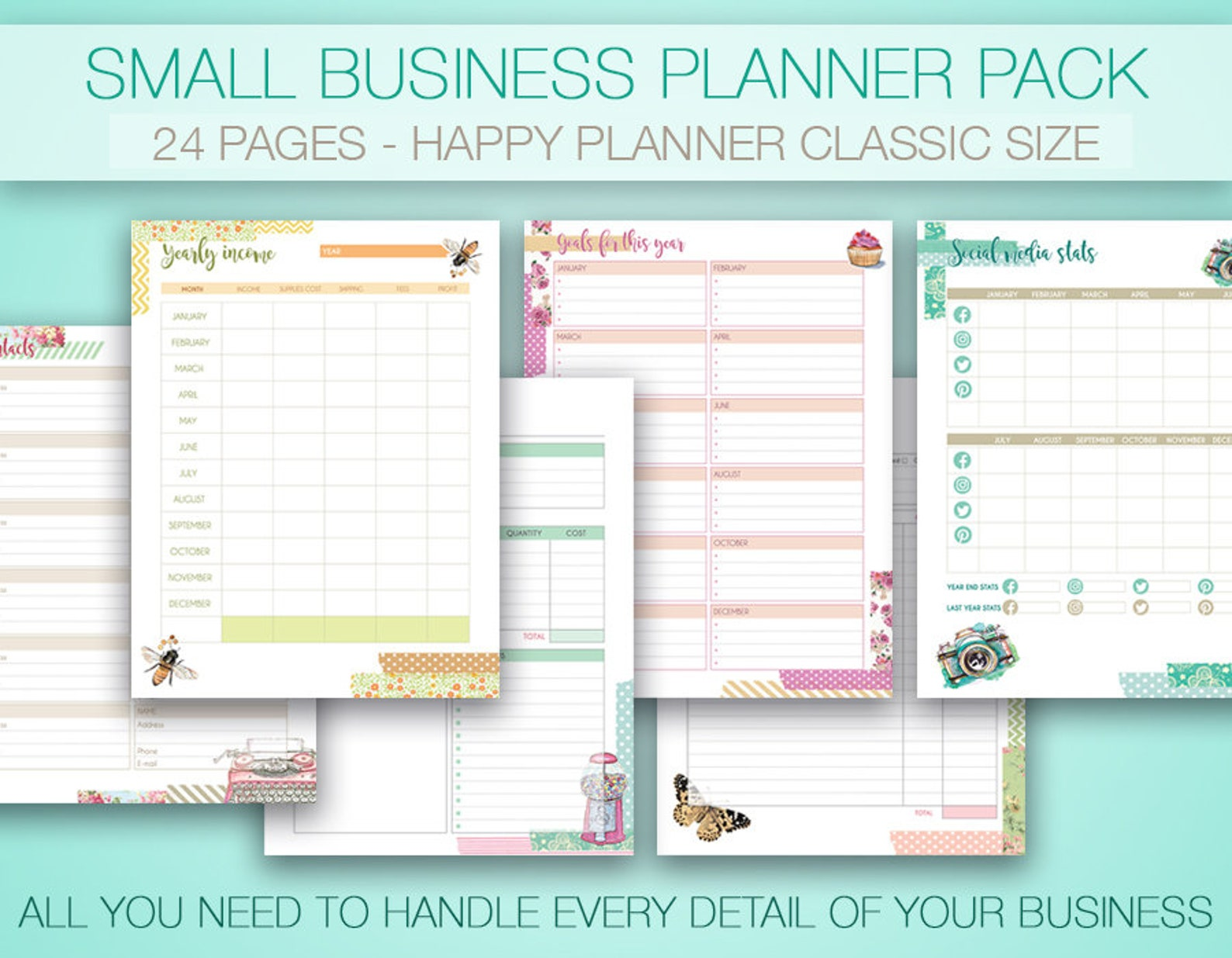 Happy Planner Business