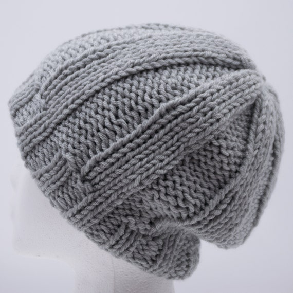 Satin Lined Winter Hat Rib Knit Beanie for Men   Women Pom  4034015f07c