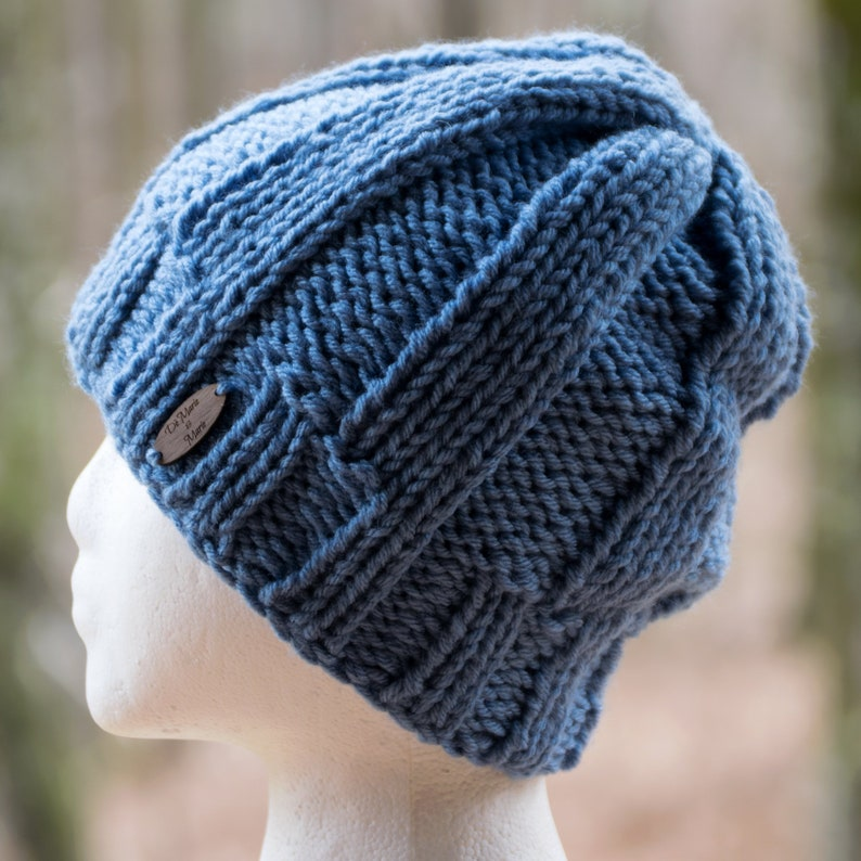 f628a6110af Satin Lined Winter Hat Rib Knit Beanie for Men   Women Pom