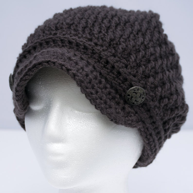 44be2ba5ae7 Newsboy Cap with Optional Satin Lining Frizz Free Winter Hat