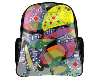 6daae08f62d8 Artsy backpack designer backpack girls backpack boys backpack book bag swim  bag workout bag gym bag kids bag mens bag womens gym bag