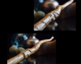 "12"" No. 226/300, 'Rugged', Harry Potter wand inspired Magic wood Wand, Custom Wand, wands, wooden"
