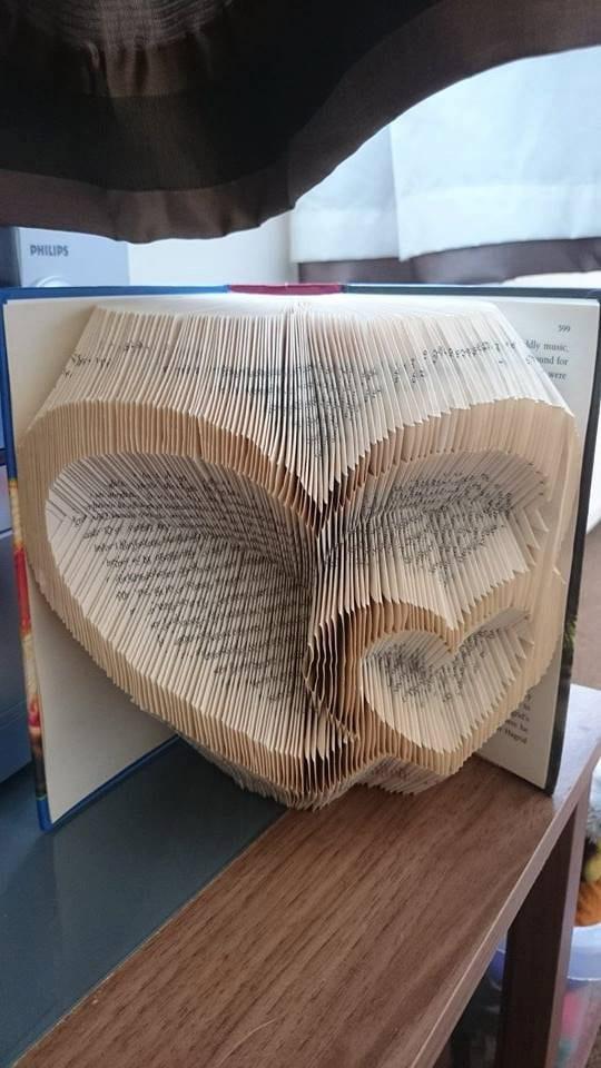 Buch Falten Herz Wwwpicswecom