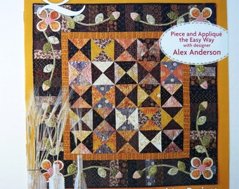 Autumn Daze Quilting Piece & Applique Quilt Pattern - American Patchwork