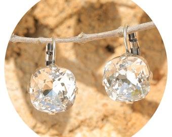 Artjany Earring Crystal Silver
