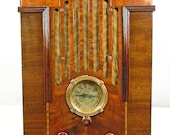 Zenith model 808 Tombstone (1935) antique radio am shortwave with mini-jack installed and BLUETOOTH AVAILABLE