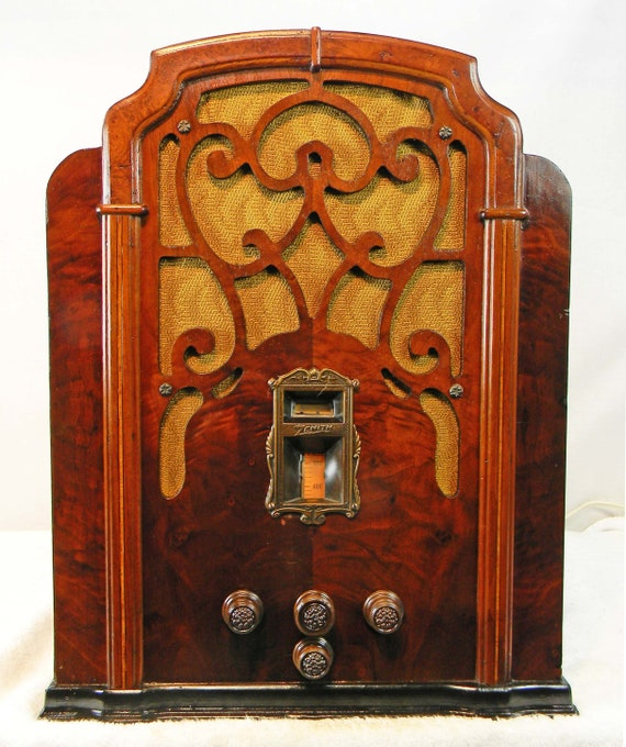 Atwater Kent Cathedral Grill Antique Radio Part Reproduction