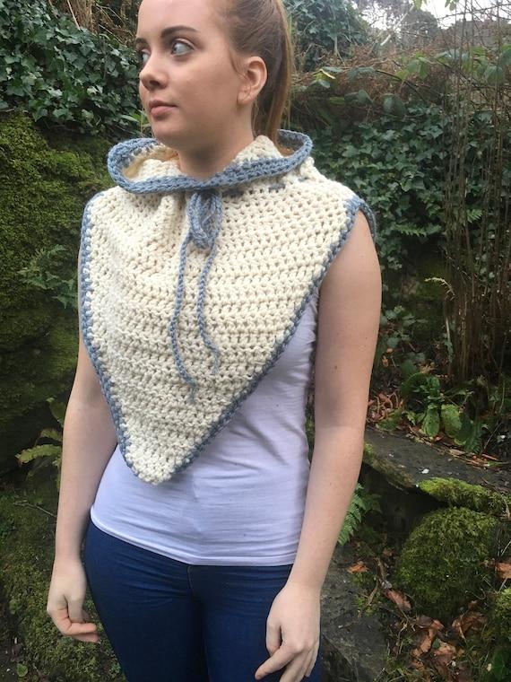 f2ab2340720 PDF crochet pattern pdf pattern crochet hood cowl pattern