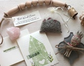 6 pc HOUSE WARMING GIFT box, Home Sweet Home Blessing Kit, Sage Smudge Kit, Spiritual New Home, Positivity Feng Shui, Real Estate Closing