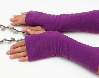 wanderlust inspirational womens gift coworker Fingerless gloves Fleece Arm warmers Jersey Gloves Tattoo cover women gloves driving gloves