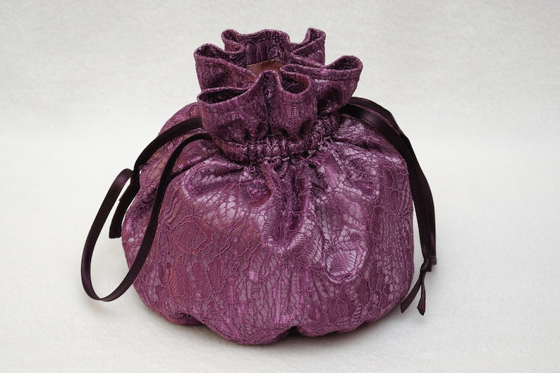 Drawstring Candy bag for Sweets bag Jewelry bag Travel Tote image 0