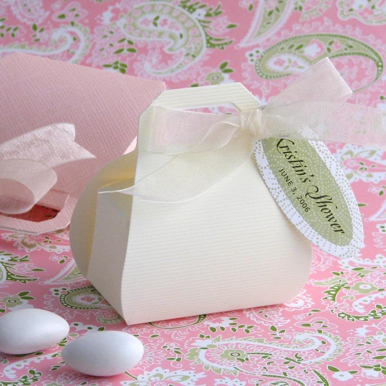 Wedding Favor Box 10 boxes Mini Purse Favor Box Party image 0