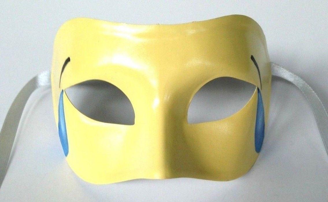 Tears of Joy Emoji Custom Painted Venetian Masquerade Mask | Etsy