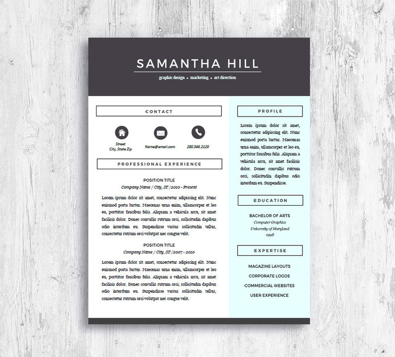 Resume Templates For Pages Creative Cv Design Resume Template For Word Modern Cv Design Student Resume Cv Template Mac