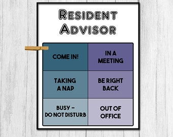 Resident assistant | Etsy