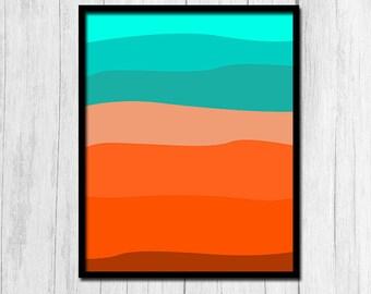 Beach Printable Art 8x10 Digital Download Beach Print Sand Print Beach Art Beach House Art Beach Home Decor Beach House Printable Art