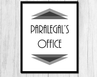 paralegal office