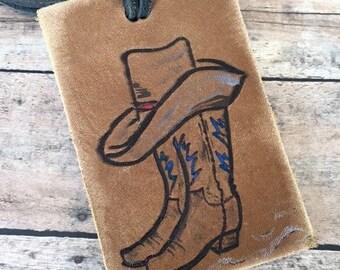 188daf39efad Texas luggage tag | Etsy