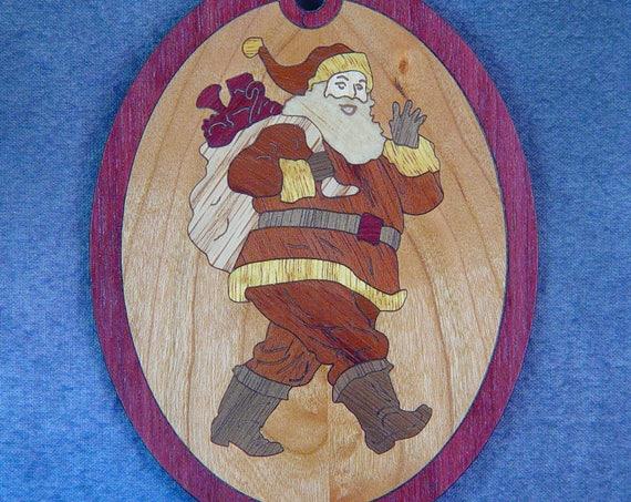 Santa Christmas Ornament Kit