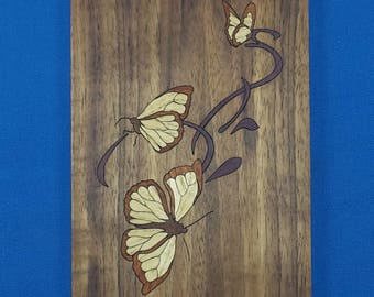 "Marquetry Kit - 5""x 7"" Butterflies"