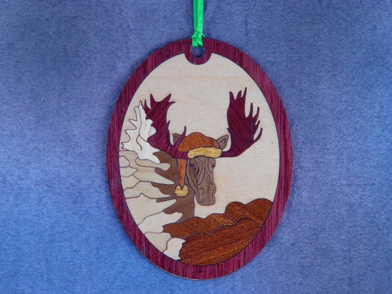 Moose Christmas Ornament Kit