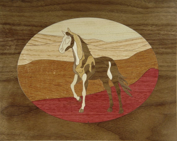 "8""x 10"" Marquetry Project Kit - Scout"