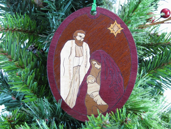 Nativity Christmas Ornament Kit