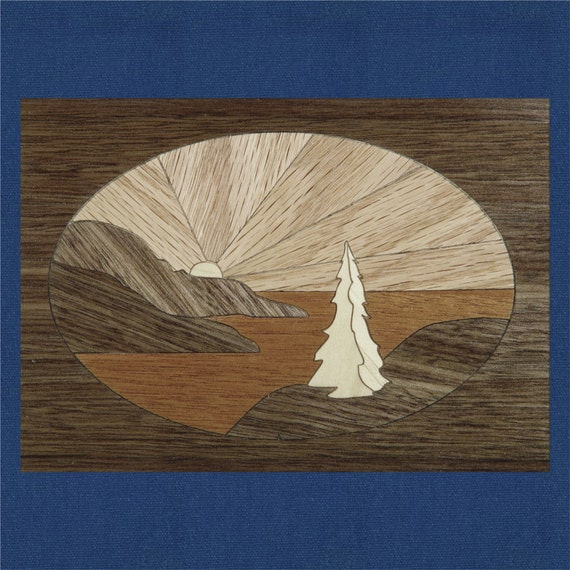 "Marquetry Project Kit - 5""x 7"" Pacifica"