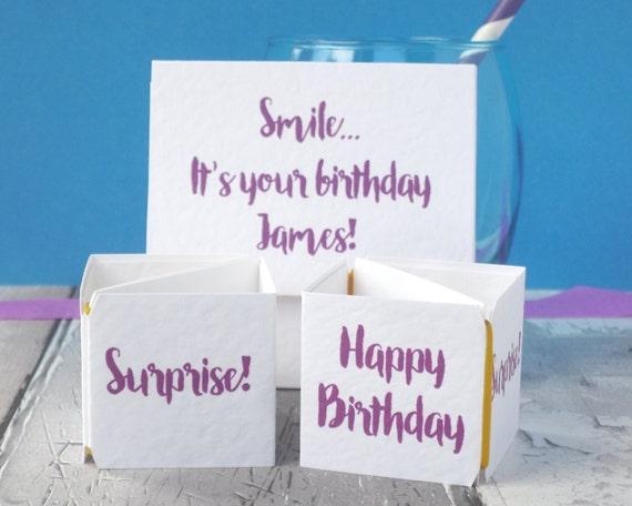 Birthday Pop Up Card For Boyfriend Funny